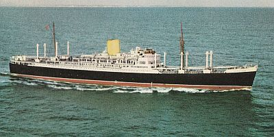 Rangitane - 1950 - New Zealand Shipping Co.