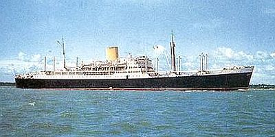 Ruahine - 1951 - New Zealand Shipping Co.